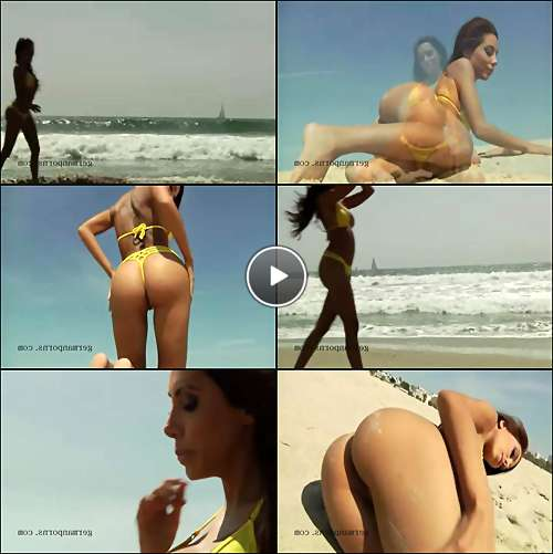 nude beach woman vids video